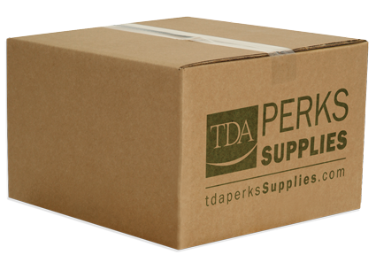 TDA Perks Supplies shipping box