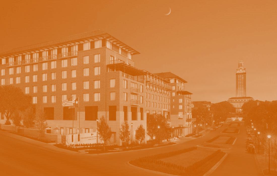 UT campus monochrome