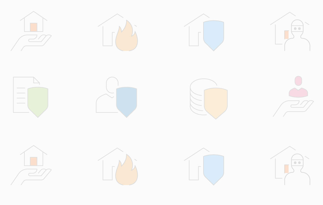 Icons depicting business insurance