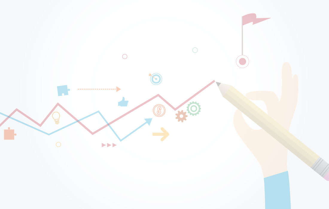Illustration of KPI graph